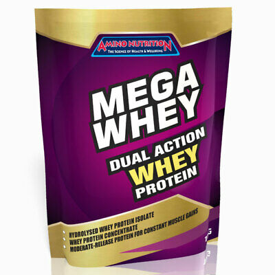 1Kg Whey Protein Isolate / Concentrate Wpi Wpc Powder Various Flavours