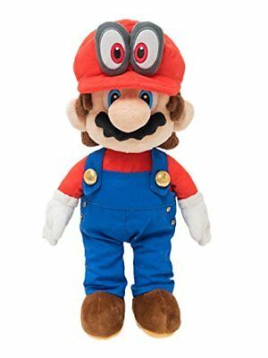 Super Mario Odyssey Plush Doll Stuffed Toy Mario 34cm w From japan