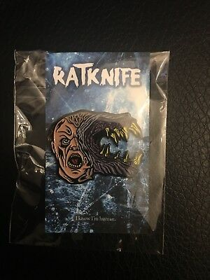 The Thing Enamel Pin Blair ratknife sold out