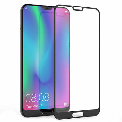 For Huawei Honor 10 3D Full Covered Tempered Glass Screen Protector Cover Film