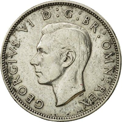 [#543242] Coin, Great Britain, George VI, Florin, Two Shillings, 1943