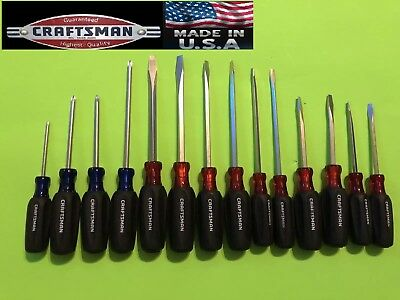 Craftsman Cushion Grip Screwdriver Phillips, Slotted, Torx  || Pick One USA Made