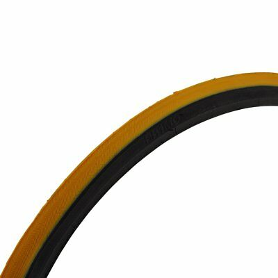 Pr1Mo V-Trak Wheelchair Tyre 24 X 1 (25-540) Orange / Yellow