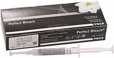 2 x VOCO Perfect Bleach 16% Refill Syringes (3 x 2.4 ml) Whitening Gel FAST SHIP