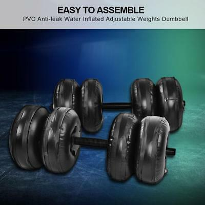 Adjustable Water-filled Dumbbell Hand Weights Bodybuilding Exercise Equipment