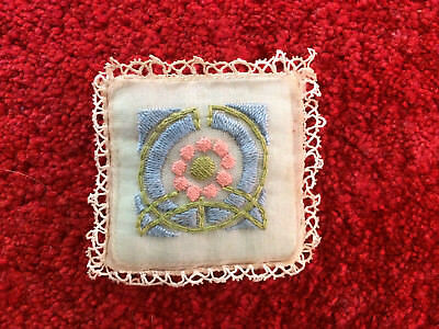 French Vintage/Antique Perfumed Scented Sachet collectable embroidered France