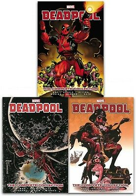 Deadpool The Complete Collection Volume 1-3 Collection 3 Books Set By Daniel Way