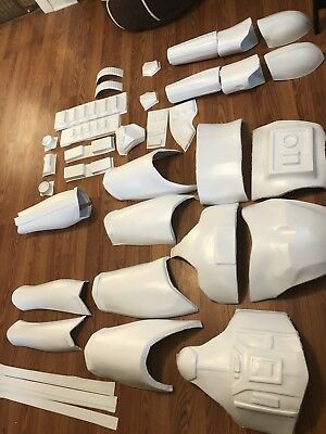 Star Wars ANH Stormtrooper Armor kit with building accessories and belt