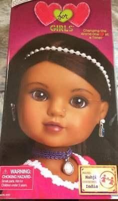 Hearts for Girls Nahji from India  NEW IN BOX