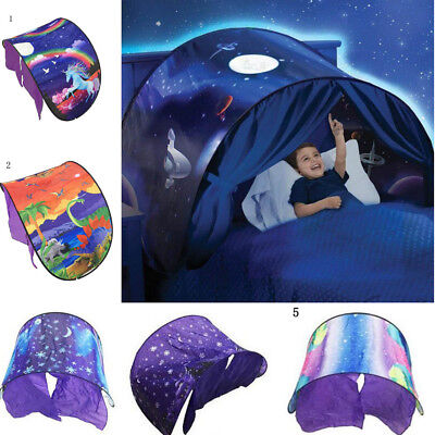 Foldable House Space Wonderland Pop up Bed Dream Tents for Kids Baby Children