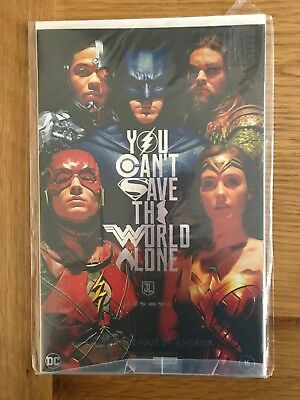 Justice League of America 15 NYCC Comic Con Convention Foil Variant 2017