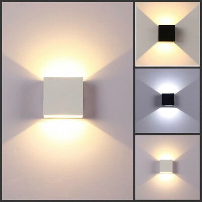 Led wall lights up down indoor modern sconce lighting lamp white led wall lights up down indoor modern sconce lighting lamp white warm lights uk aloadofball Images