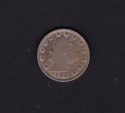 United States 1904 5 Cent Coin