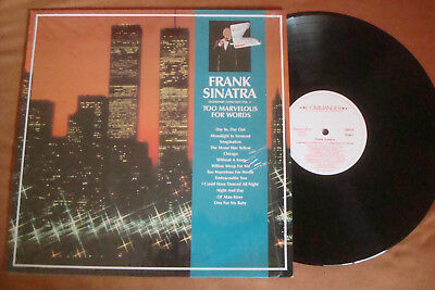 Frank Sinatra - Too Marvelous For Words - Legendary Concerts Vol.2 Lp