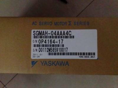 Yaskawa servo motor SGMAH-04AAA4C New IN BOX by DHL or EMS