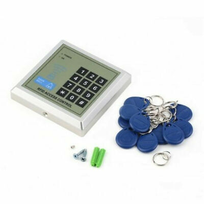 Electronic RFID Proximity Entry Door Lock Access Control System + 10 Key Fobs