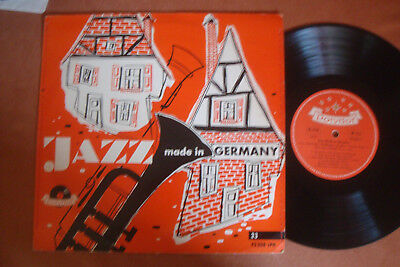 "Jazz Made In Germany - 10"" Lp - Mono - Polydor"