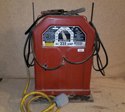 Lincoln 225 AMP ARC WELDER LINCWELDER ELECTRIC AC VINTAGE CLASSIC (#2)