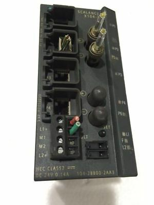 Siemens PLC module 6GK5104-2BB00-2AA3 Used 100% test by DHL or EMS