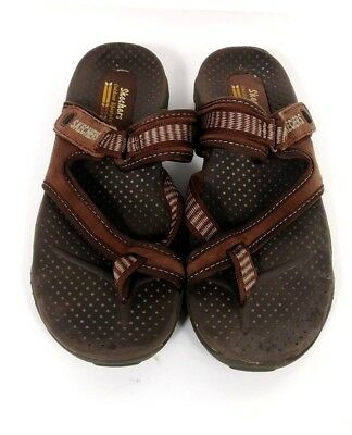 2c3a3c6ae32 SKECHERS OUTDOOR LIFESTYLE brown Sandals womens sz 7. (S5P) -  19.95 ...