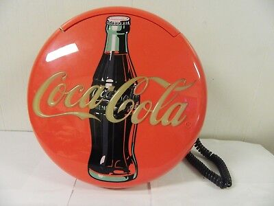 Coca Cola Round Wall Mount or Table Top Telephone