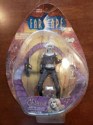 Farscape Series 1 Chiana- Armed And Dangerous- Toy Vault Mint On Sealed Card!!!!