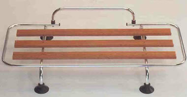 Mazda MX5 MK1/2 Luggage Boot rack Aluminium and Wood