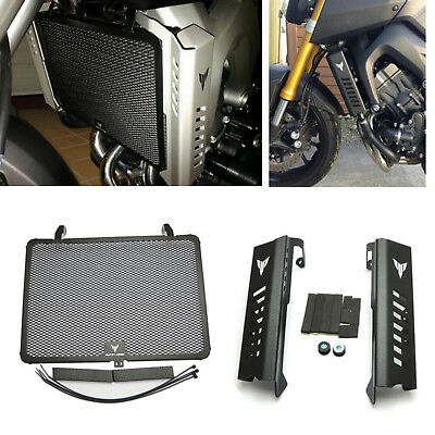 Radiator Grille Guard & Side Cover Protector For Yamaha MT09 FZ09 2014-2017