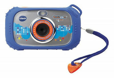 Vtech 80-145004 - Kidizoom Touch 9 in 1 Digitalkamera in Blau - Video, MP3 - NEU