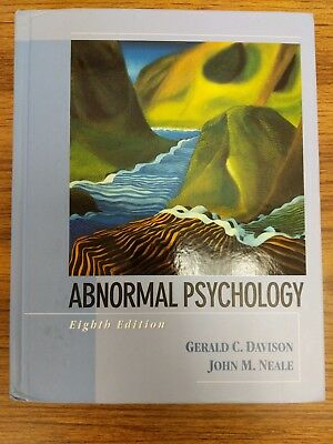 Abnormal psychology 8th Edition by Davison and Neale