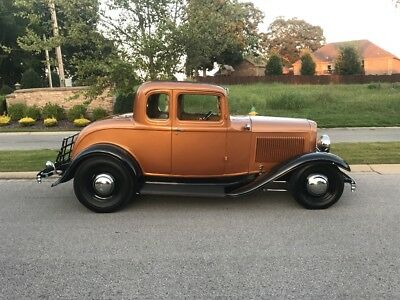 1932 Ford Other Deluxe 1932 Ford 5 Window Coupe Street Rod Steel 1940 Wheels