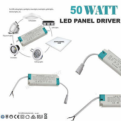 Universal 45W - 50W Driver Power Supply For LED Panel Ceiling Light Down Light