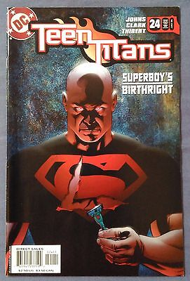 TEEN TITANS (2003/Vol 3) #24 by Geoff Johns & Matthew Clark - DC/OUTSIDERS