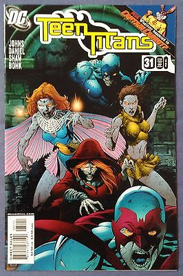 TEEN TITANS (2003/Vol 3) #31 by Geoff Johns and Tony Daniel - DC COMICS