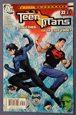 TEEN TITANS (2003/Vol 3) #33 by Wolfman, Johns, & Nauck - DC/INFINITE CRISIS