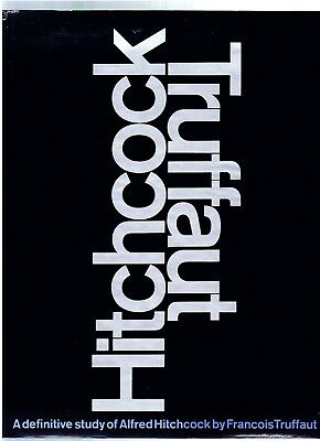 FRANCOIS TRUFFAUT ~ DEFINITIVE STUDY OF ALFRED HITCHCOCK ~ 1st Ed 1967~ EX COND