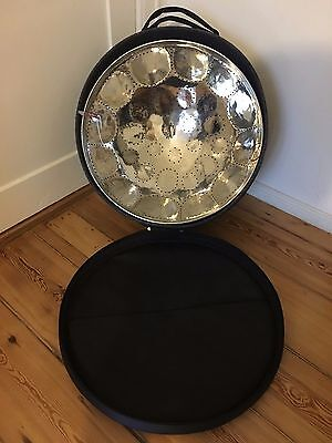 Low C ''Bore'' Soprano Steel Drum w/ Case, Stand and Sticks (Made To Order)