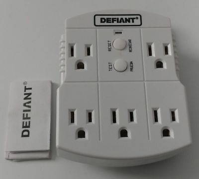 Defiant 5 Outlet GFCI Adapter 699 399