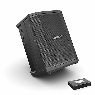 Bose S1 Pro Bluetooth Speaker System w/Battery, PDMIC58 Microphone,Cable & Cloth