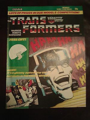 G1 Transformers Comic no 17, from the 80s and original (Really rare)
