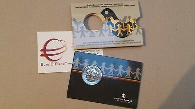 coincard 2 euro 2018 LITUANIA Festival Lituanie Litauen Lietuva Литва Lithuania