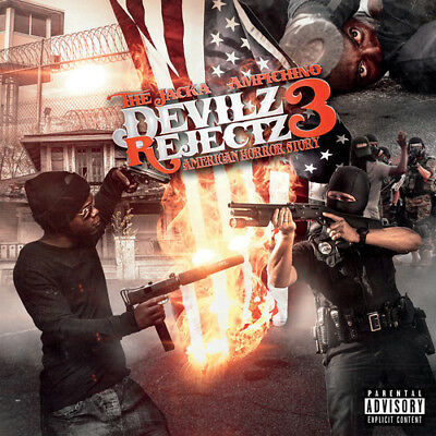Jacka & Ampichino - The Devilz Rejects 3 [New CD] Explicit, Digipack Packaging