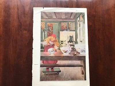 G  Illustrated by Jessie Wilcox Smith Copyright 1911 by Duffifld & Co