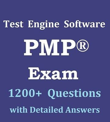 PMP Exam 1230 Questions Bank Test Engine Software PMBOK 6E 6th Sixth Edition