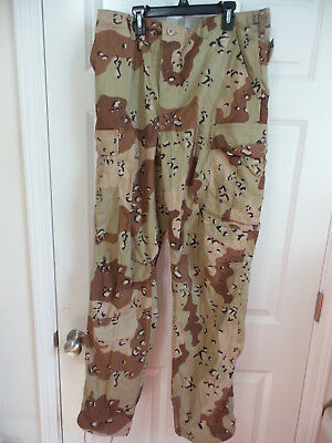 New Propper International 1990 Desert Storm Army Medium Long Six Color Pants