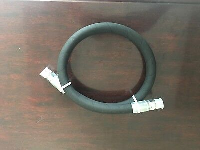 "1/2"" x 144"" 2-Wire 5,000 PSI Hydraulic Hose Assembly with 2- Male Pipe Fittings"