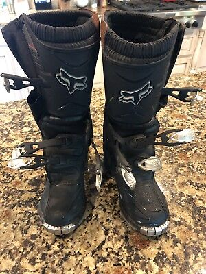 Fox Racing Motorcycle Riding Boots Size 7