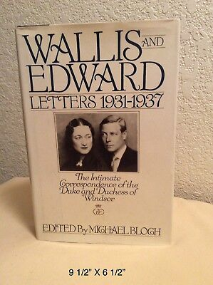 Wallis And Edward Letters 1931-1937