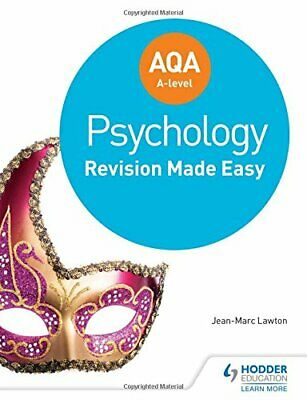 AQA A-level Psychology: Revision Made Easy by Lawton, Jean-Marc Book The Cheap