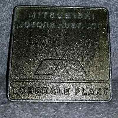Vintage Cast Iron 1967-2005 Commemorative 38 Years of Castings Mitsubishi Motors
